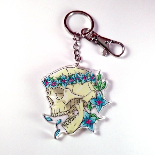 Image of Already Gone - Acrylic Charm Keychain