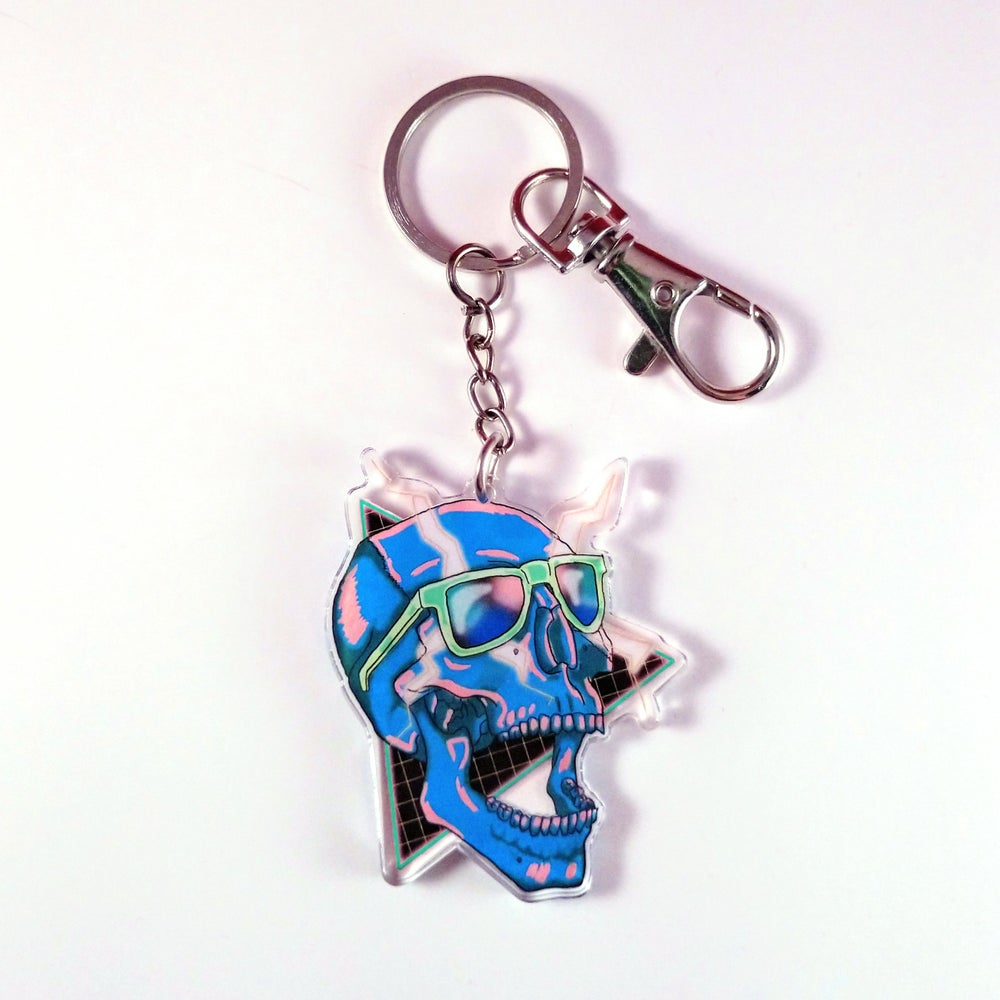 Image of Synthesize - Acrylic Charm Keychain