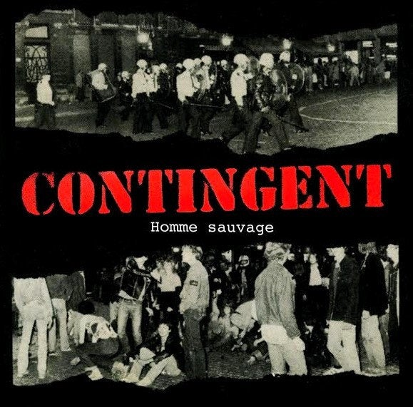 """Image of CONTINGENT - """"Homme Sauvage"""" 7"""""""