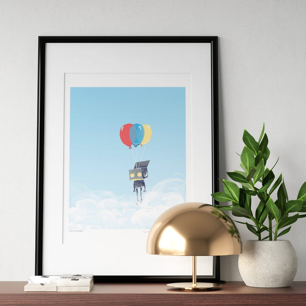 Image of Such Great Heights Print