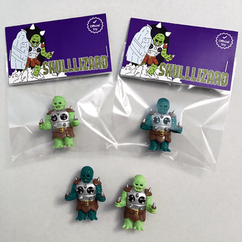 Image of The SKULLLIZARD Minifigure