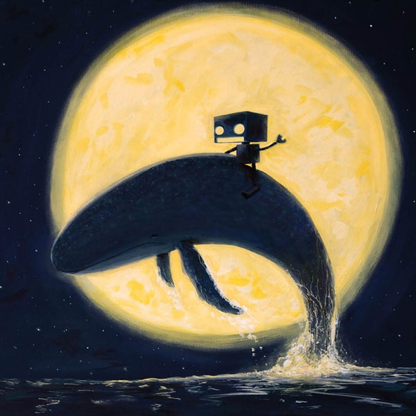 Whale of a Time - Matt Q. Spangler Illustration