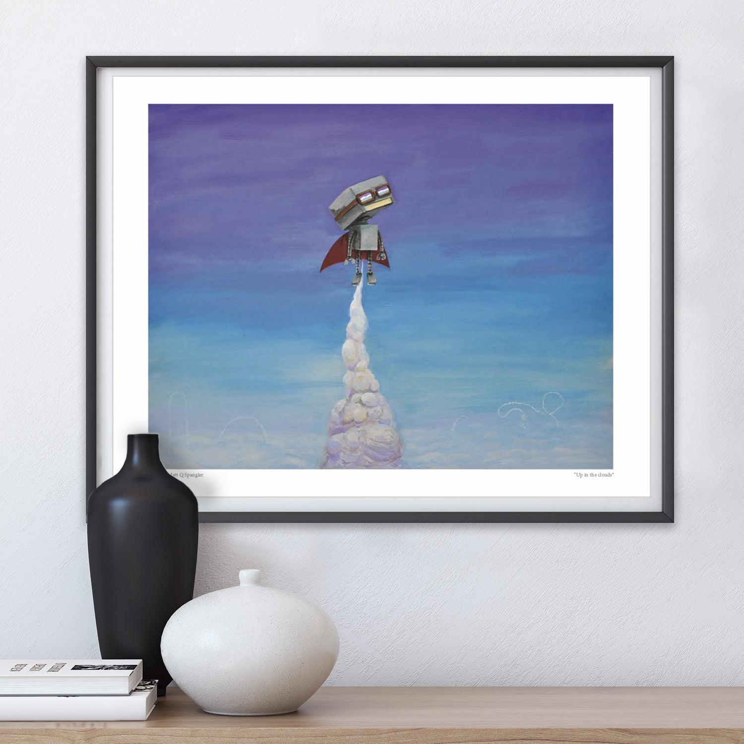Image of Up in the Clouds Print