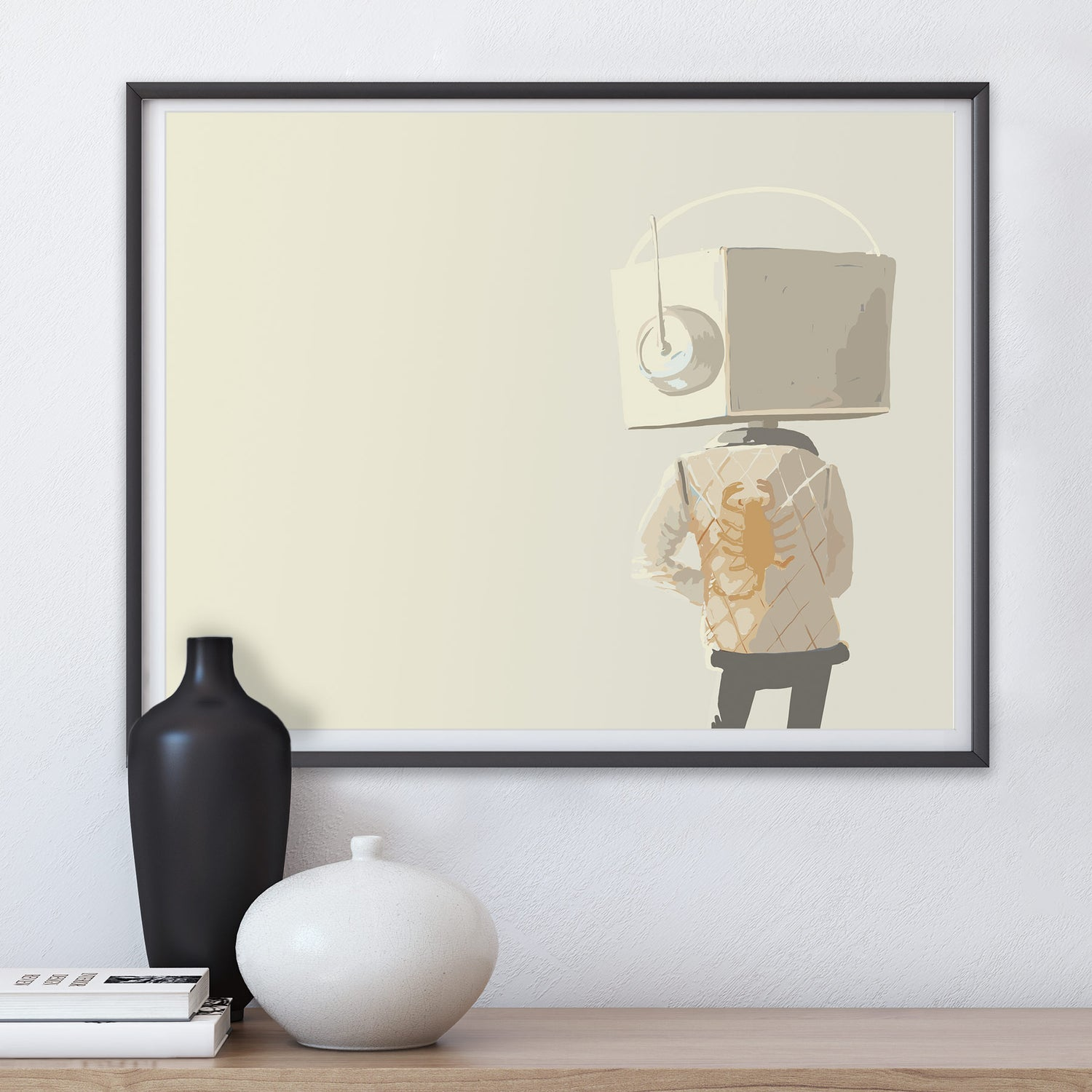 Image of Drive, a Robot Tribute Print