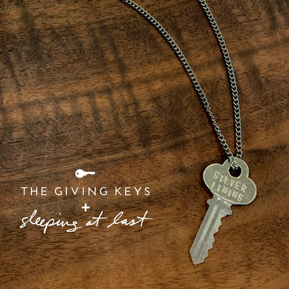 "Image of Enneagram 7 - ""SILVER LINING"" Key Necklace"
