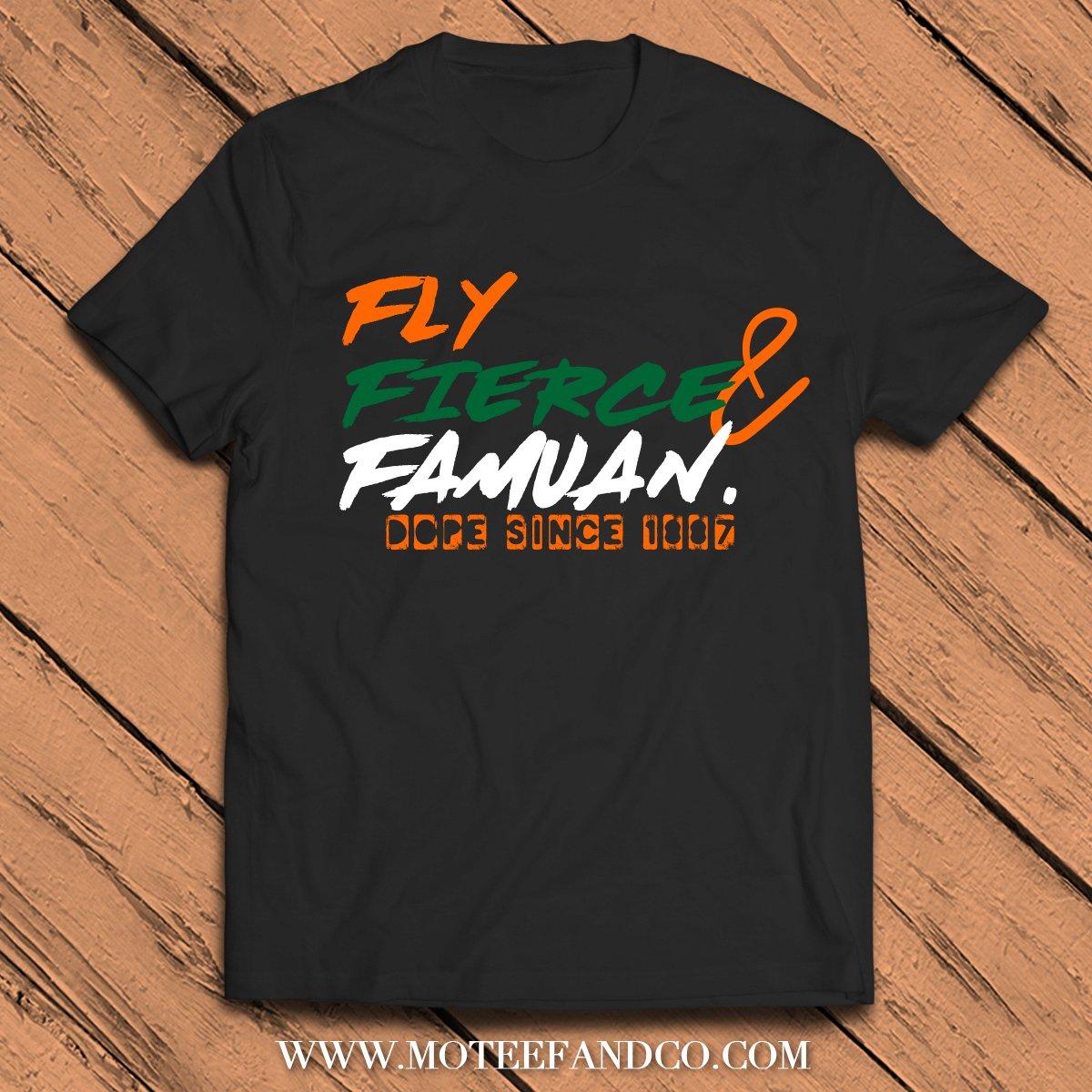 Image of FLY FIERCE FAMU