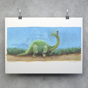 Dinomight! - Matt Q. Spangler Illustration