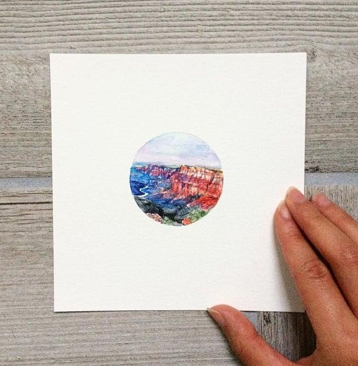 Image of Custom Tiny Painting