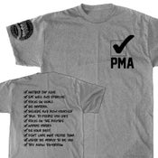 Image of PMA CHECK LIST