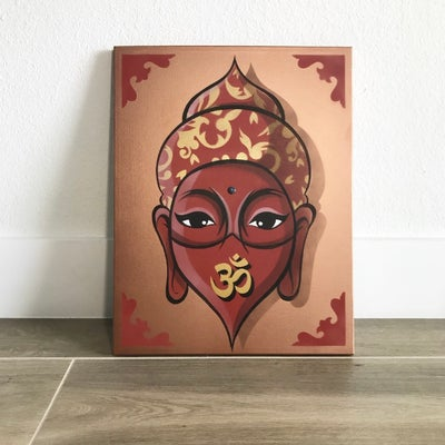 Image of Buddha 3 (Original/ Hand painted canvas)
