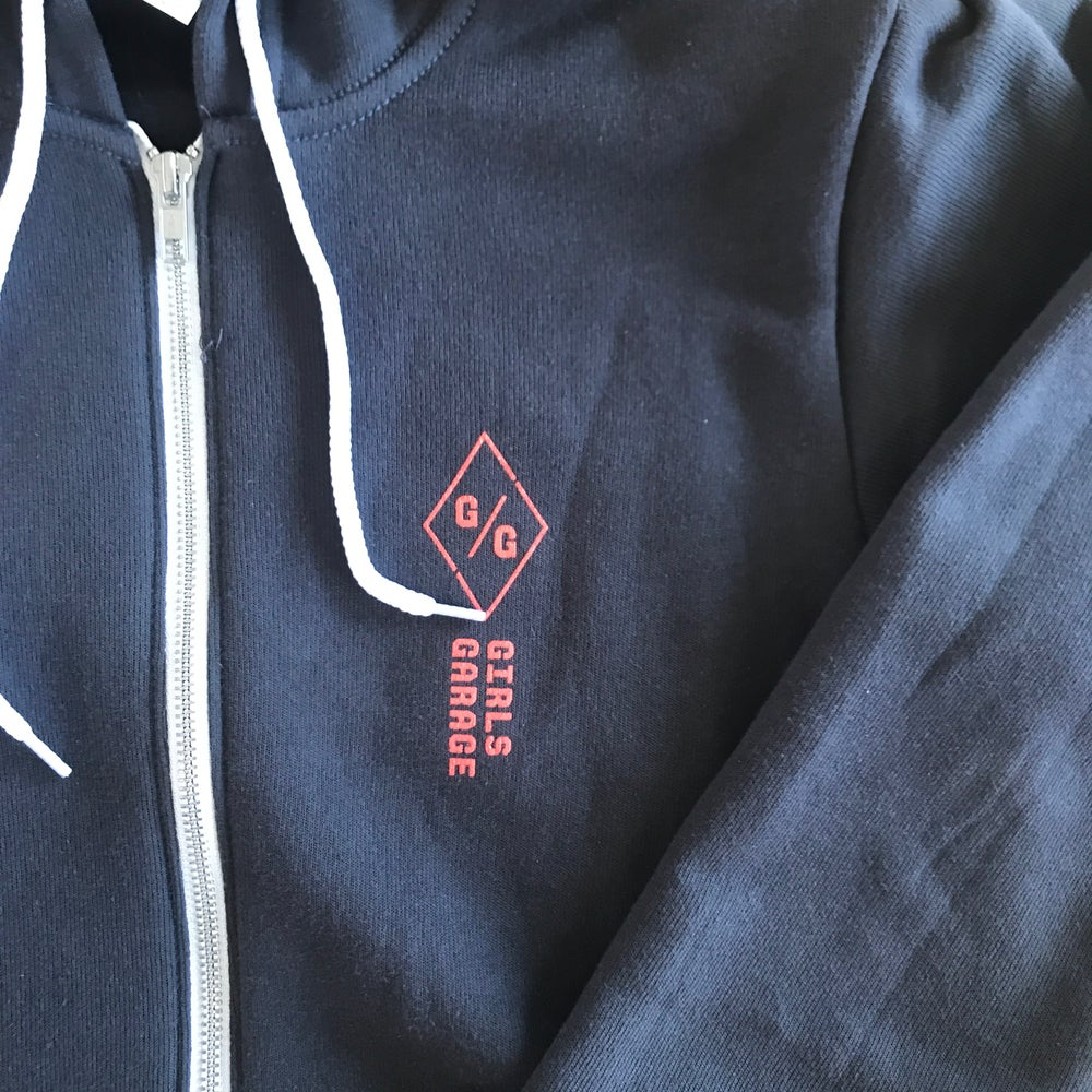 Fear Less. Build More. Zip-up hoodie