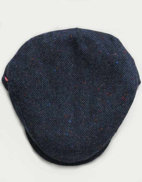 Image of 'VILLAIN' CAP #2 [HARRIS TWEED]