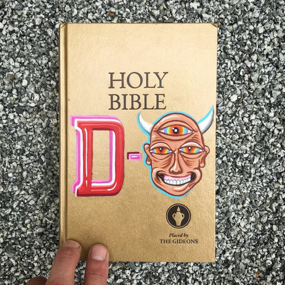 Image of D-faced HOLY BIBLE