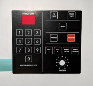 Image of Membrane Button Switch Pad Panel for Prophet 600