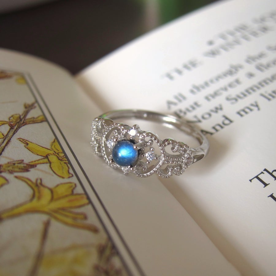 Image of Labradorite Empress ring