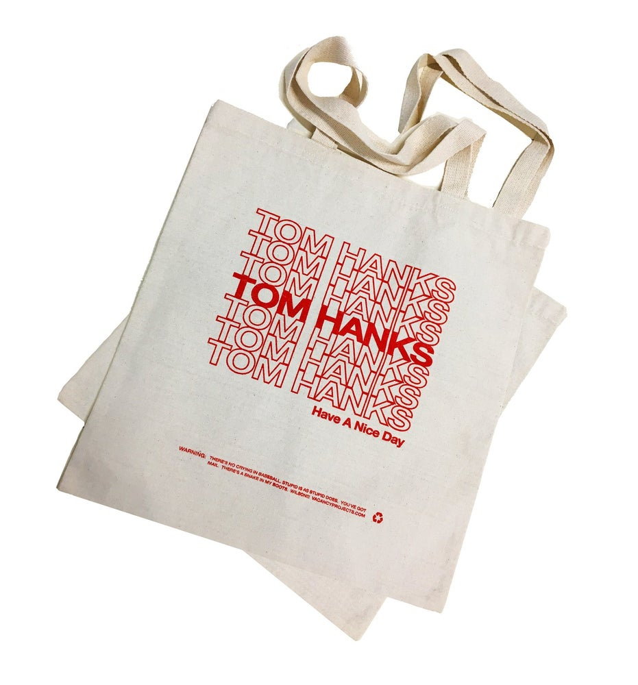 Image of Tom Hanks Tote