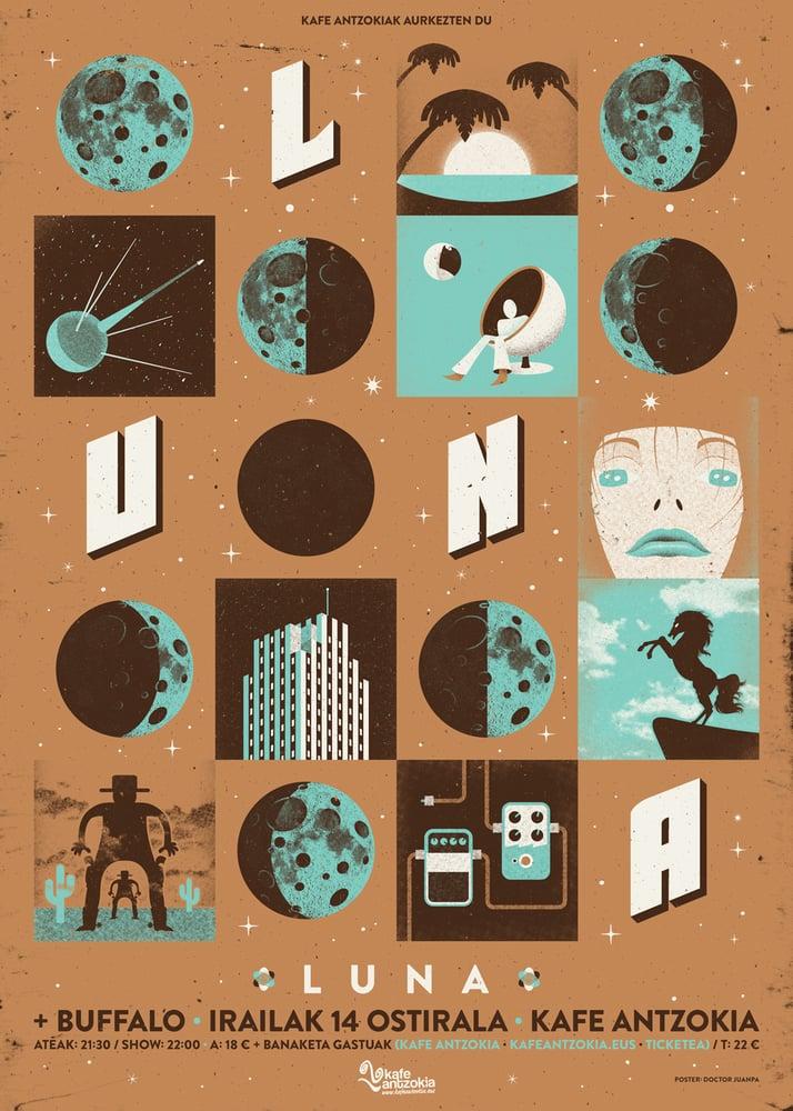 Image of Luna Poster (Regular)