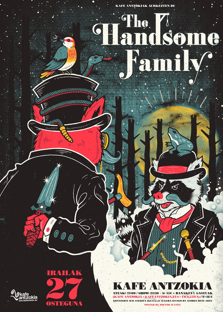 Image of The Handsome Family Poster (Regular)