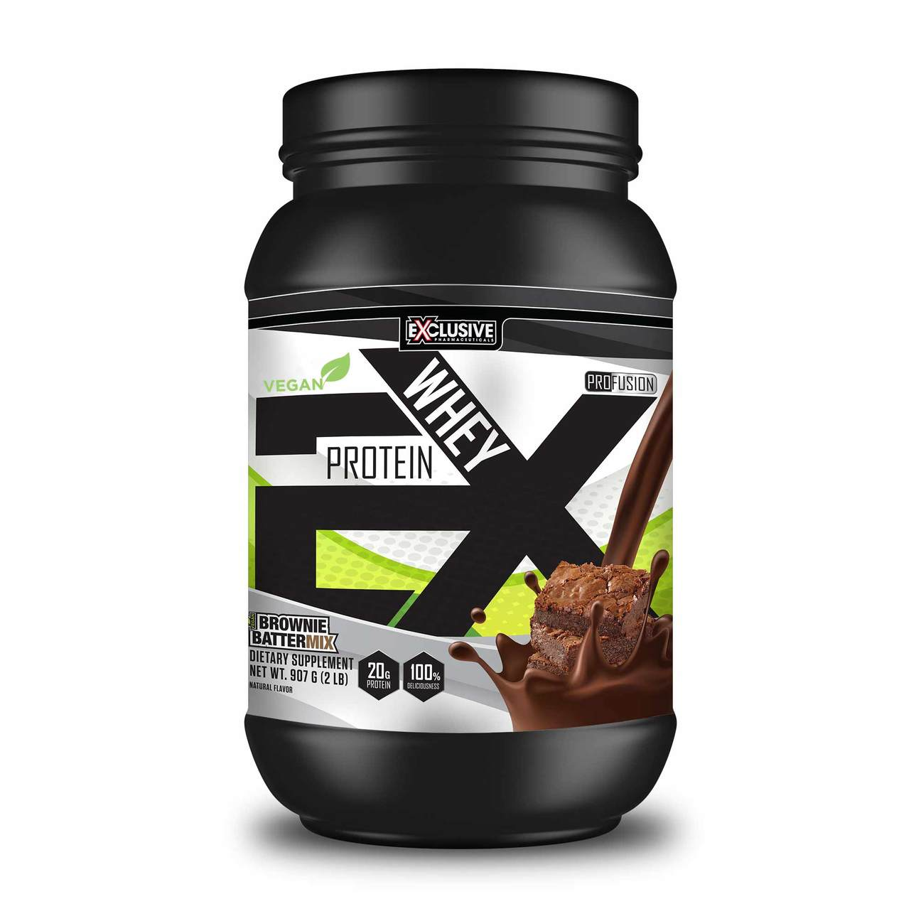 Image of Profusion VEGAN Brownie Batter Plant Based Protein