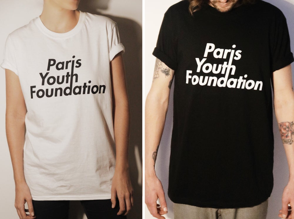 Image of PARIS YOUTH FOUNDATION LOGO TEE SHORT SLEEVE