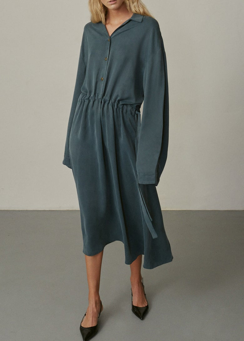 Image of 14-2 CUPRO DRESS