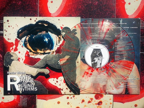 "Image of ""Rants, Riffage and Rousing Rhythms"" - splatter vinyl + free download code"