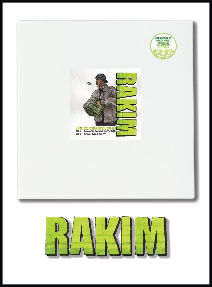 Image of Rakim - Unreleased Studio Set