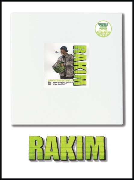 Image of Rakim - Unreleased Studio Set