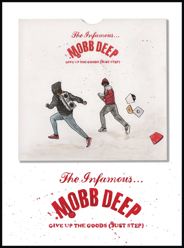 Image of Mobb Deep - Give Up The Goods (Just Step) Record Cover
