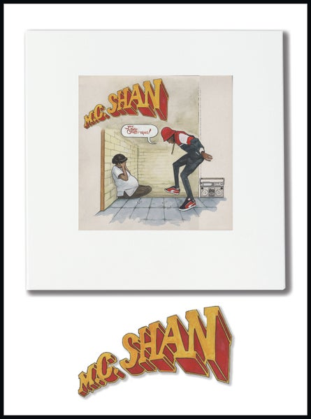 Image of MC SHAN Record Cover