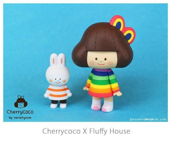 Image of Cherrycoco in Cloudy and Rainbow Style
