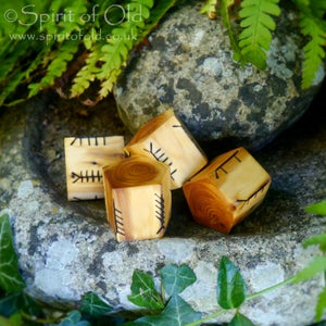 Image of Spirit of Old Ballymote Ogham Dice (D164)