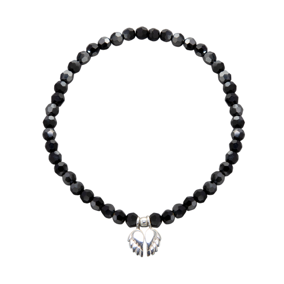 Image of NEW Power Swarovski Crystal Angel Wings Bracelet