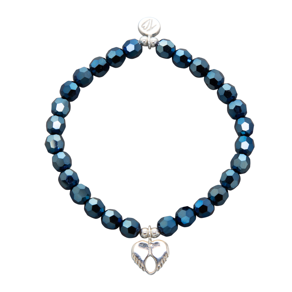 Image of NEW Wonder Swarovski Crystal Dainty Love Bracelet