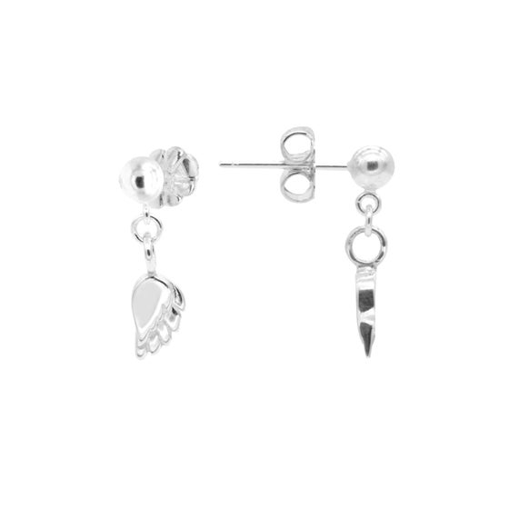 Image of NEW Angel Wing Drop Earrings