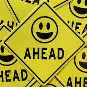Image of SMILES AHEAD Sticker