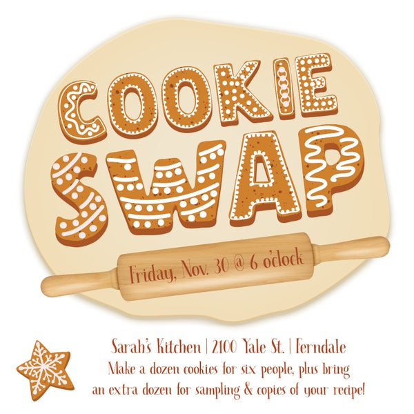 Image of Cookie Swap Invitation