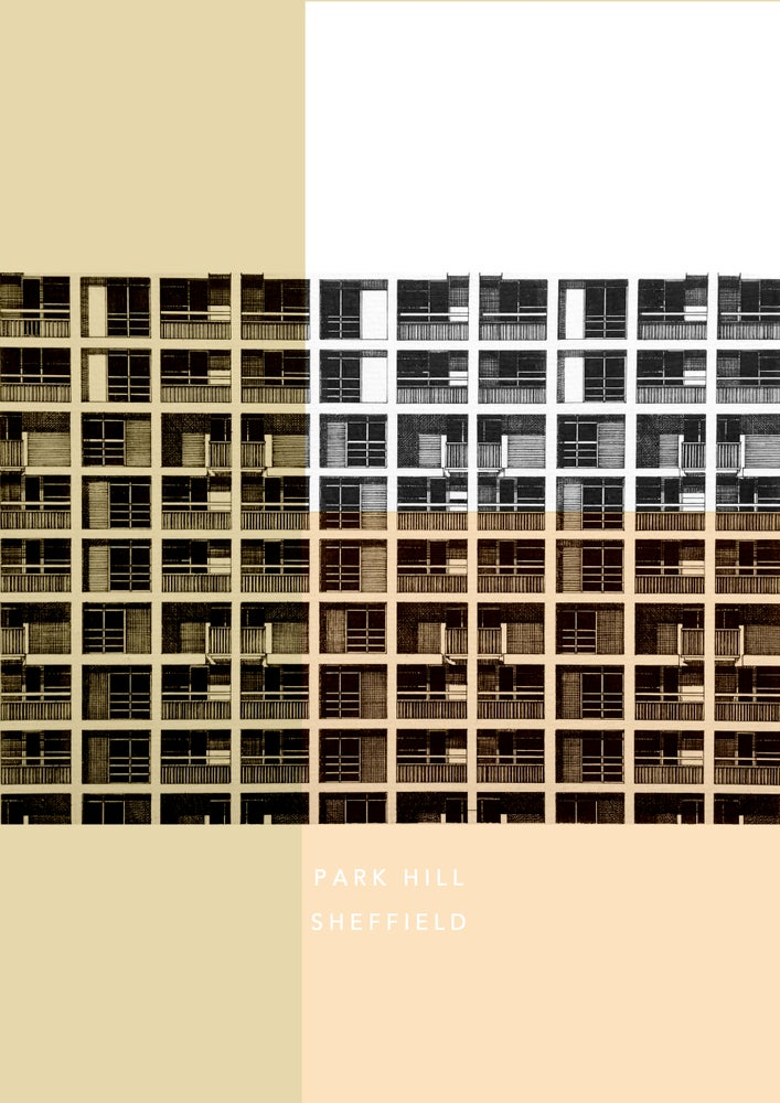 Image of Park Hill Sheffield Poster