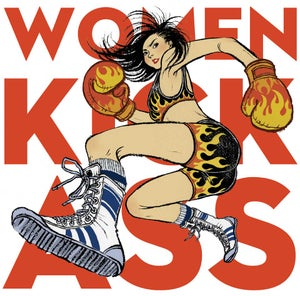 Image of limited edition Women Kick Ass print