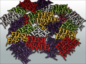 "Image of Flesh Parade ""Classic Logo"" Patches"