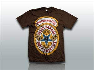 "Image of Flesh Parade ""Dirty Sweet Ale"" Brown Shirt"