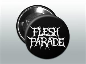 "Image of Flesh Parade ""Classic Logo"" (1"" Buttons - Set of 3)"