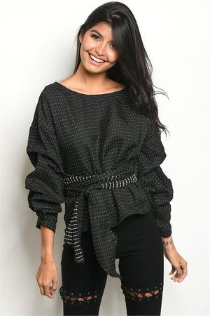 Image of Charlotte Wrap Top