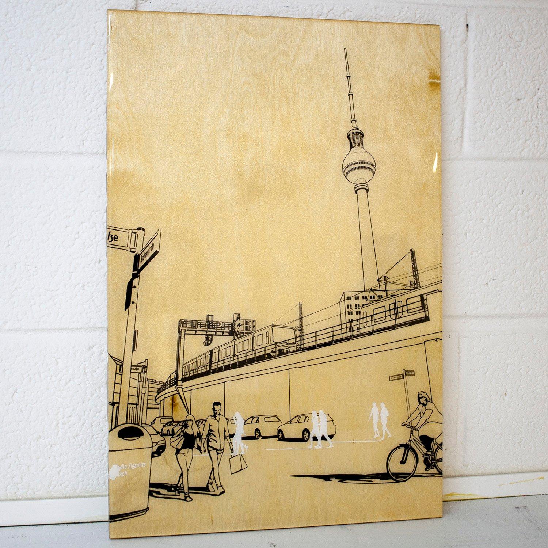 Image of Berlin sketch 40 x 60
