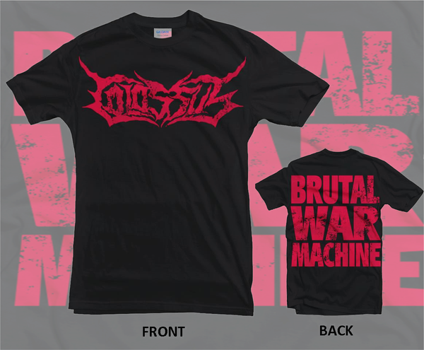 Image of Brutal War Machine t shirt T-shirt