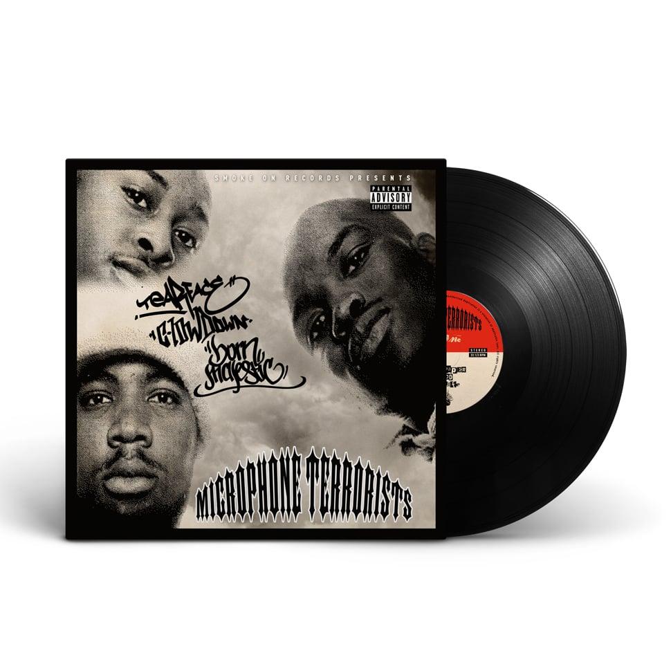 Image of Microphone Terrorists - The EP Vinyl