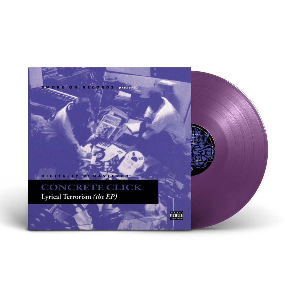 Image of Concrete Click ‎– Lyrical Terrorism The EP Vinyl (The Purple Deluxe Edition)