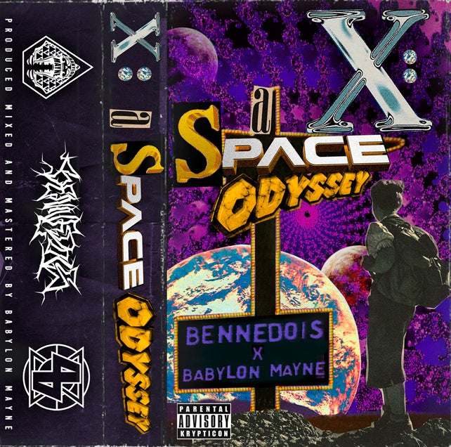 Image of BENNEDOIS x BABYLON MAYNE - X: A SPACE ODYSSEY TAPE