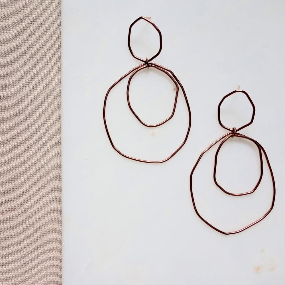 Image of Organic Chandelier Earring