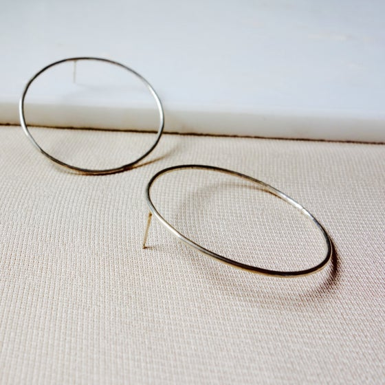 Image of Big Circle Studs